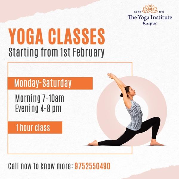 yoga regular classes tyi raipur